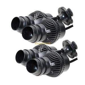 NEW-TWO-1600GPH-WAVE-MAKER-FISH-PUMP-AQUARIUM-TANK-POWERHEAD-SUCTION-CUP-MOUNT