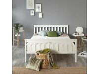 Aadi Bed Frame white (Small Double) selling at £65.00 BNIB this are £113.09 to buy BNIB