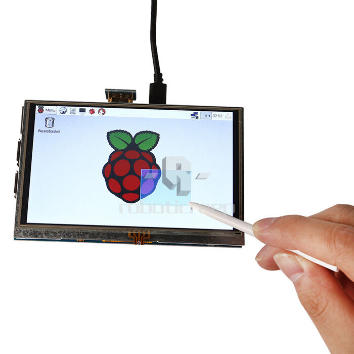 """US Shipping 5"""" Inch 800x480 HDMI Touch LCD Screen for"""