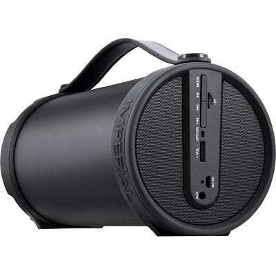 IMPERIAL BEATSMAN mobiler Bluetooth 2.1 Lautsprecher mit UKW Radio, MicroSD