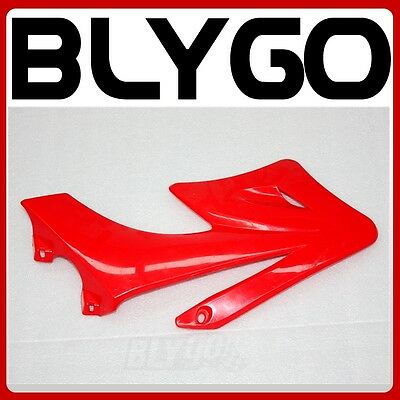 RED Plastic Front LEFT Side Tank Guard Fender APOLLO ORION Styl PIT Dirt Bike