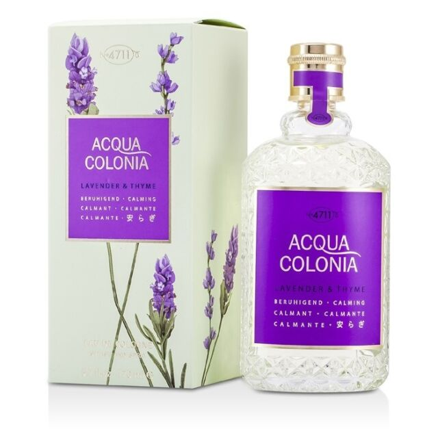 NEW 4711 Acqua Colonia Lavender & Thyme EDC Spray 170ml Perfume