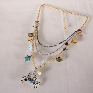BRAND NEW Betsey Johnson Layered Necklace + Parrot Earrings Kitchener / Waterloo Kitchener Area image 4