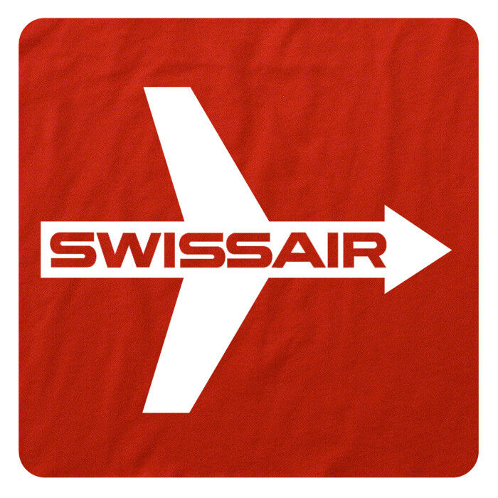 6fee0afb978 This retro SWISS AIR t-shirt is professionally and artistically printed on  supersoft