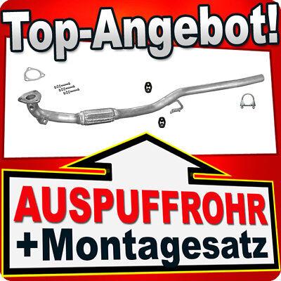 Hosenrohr SEAT IBIZA CORDOBA SKODA FABIA VW POLO 1.2 02-05 Auspuff Flexrohr AAM
