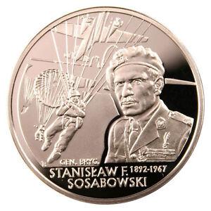 Poland / Polen - 10zl General Stanislaw F. Sosabowski (1892-1967) - Elk, Polska - Zwroty są przyjmowane - Elk, Polska