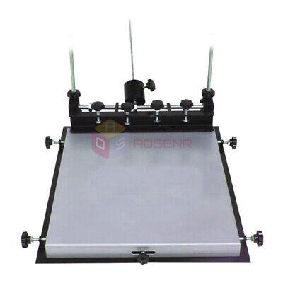 New Lsize Manual Solder Paste Printer Printing Pcb Smt Stencil Printer 600x450mm