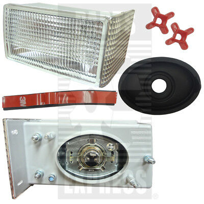 Case Ih Lh Front Grill Light Assy With Bulb Part Wn-1964882c2 For Tractors