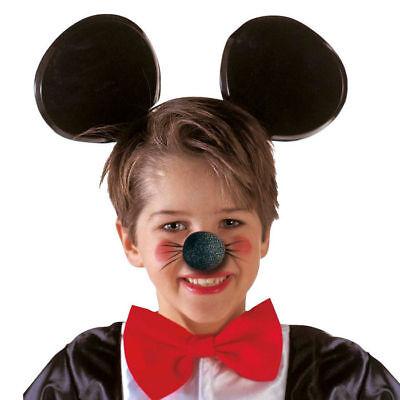 Mausnase schwarz aus Schaumstoff Mäusenase Kostümzubehör Pappnase - Kostüm Aus Pappe