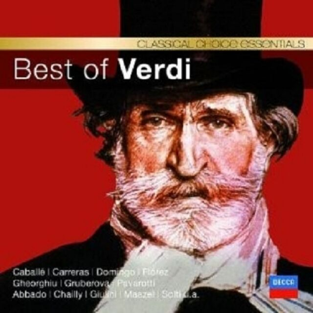 BEST OF VERDI (CC)  CD NEU