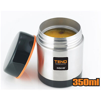 LunchBox Thermo Food Jar Vacuum Stainless Outdoor Food Container 11.8 oz
