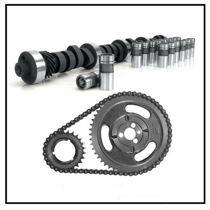 Camshaft Kit Lifters Timing Chain Chevy SBC 283 327 350 383 400 5.7L Stage 1 RV