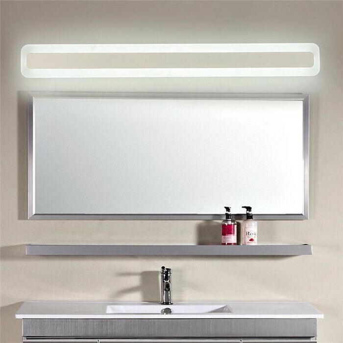 modern art decor acrylic bathroom mirror light vanity make u