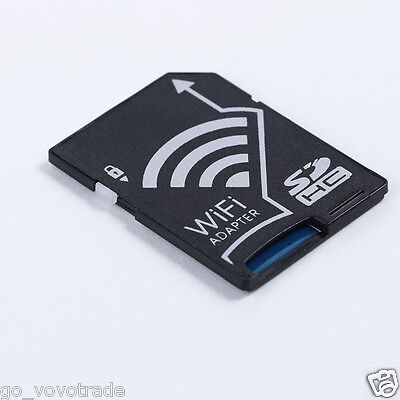 Micro SDHC Card to WIFI SD Card Adapter Wireless Memory Card for DV Camera Styli