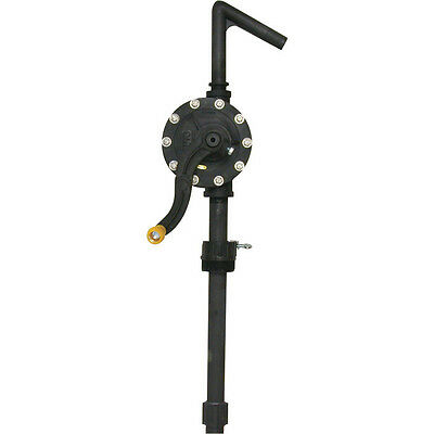 Hand Rotary Chemical Biodiesel Vegetable Oil Pump - Industrial Fuel Transfer