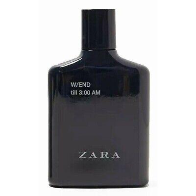ZARA W/END TILL 3:00 AM for MEN * 3.4 oz (100 ml) EDT Spray NEW & UNBOXED