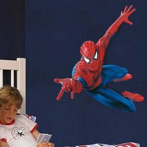 Merveilleux Superhero Spiderman Mural Wall Decal Sticker Kids Nursery Room Decor DIY  PVC 3D