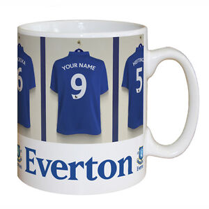 Personalised Football Club FC Shirt Dressing Room Mug Present Gift Idea - New