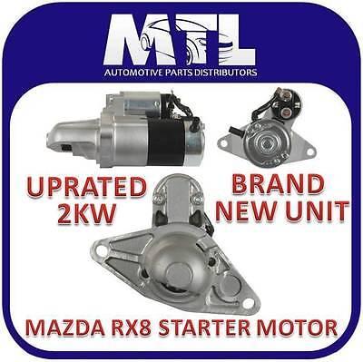 MAZDA RX8 1.3 SE STARTER MOTOR BRAND NEW 2.0KW UPRATED 2003-