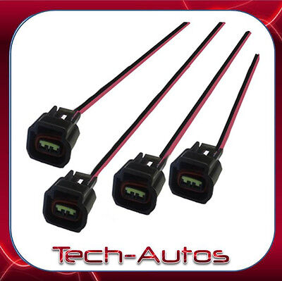 4X YAMAHA YZF-R6 YZF-R1 YZF-450 IGNITION COIL WIRE HARNESS LOOM REPLACEMENT PLUG