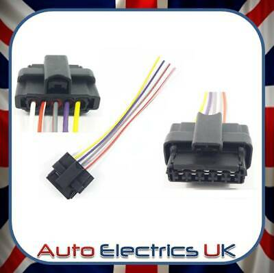 HEADLIGHT PLUG EXTENSION WIRING HARNESS LOOM 5 PIN CONNECTOR FOR RENAULT MEGANE