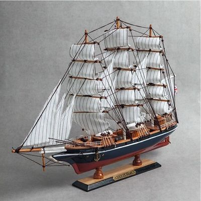 K-05 U.K Wooden Model Ship DIY Kits United Kingdom Sailing Boat Decoration A_r