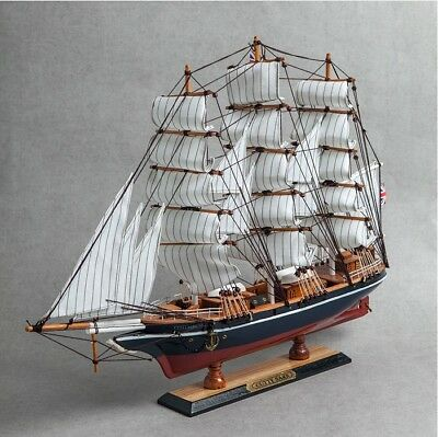 K-05 U.K Wooden Model Ship DIY Kits United Kingdom Sailing Boat Decoration Toy