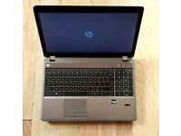 "HP PROBOOK 4545S 15.6"" LAPTOP,AMD 2.5GHZ A4-4300M,RADEON HD GRAPHICS,320GB HDD,4GB RAM,WINDOWS 10"