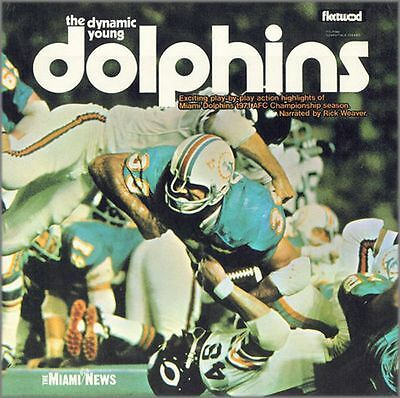 1971 The Dynamic Young Dolphins - Miami Dolphins CD