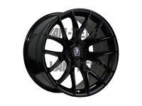 Axe CS – Lite 20″ Alloy Wheels in Gloss Black fit VW T5 T5.1 T6 Vans