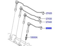 Hyundai i30 Spark Plug Lead No4 2745023700