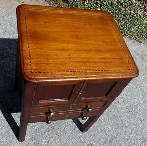 Georgian Period Antique Mahogany 2 Drawer Cabinet Kingston Kingston Area image 4