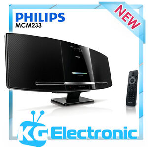 Philips MCM233 Micro CD Stereo System w USB, MP3 Link Brand new