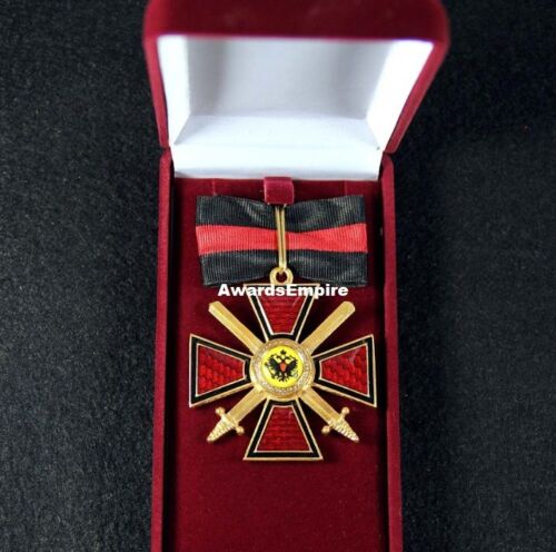 Empire Cross of the Order of St.Vladimir, 2 degrees for the Gentiles with swords