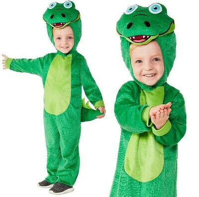 Baby & Toddler Crocodile Fancy Dress Costume Childrens Childs Suit by - Crocodile Toddler Costume