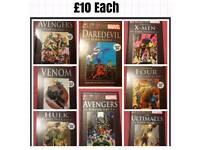 marvel hardback books