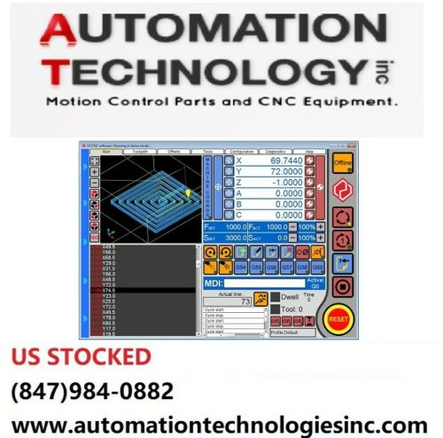 UCCNC Control Software License-Up to 6-axis ( X,Y,Z, A,B,C)  CNC Machine Control