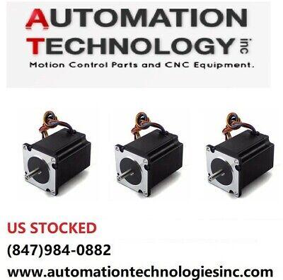 3pcs Nema23 270ozin 2.8a 14 Dual Shaft Stepper Motor Kl23h276-28-4b