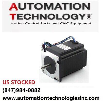 2pcs Nema23 270 Ozin 2.8a 14 Dual Shaft Stepper Motor Kl23h276-28-4b