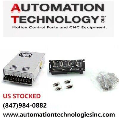 Us Ship Gecko G540 Controller 48v 12.5a 110220v Power Supply Cnc Kit