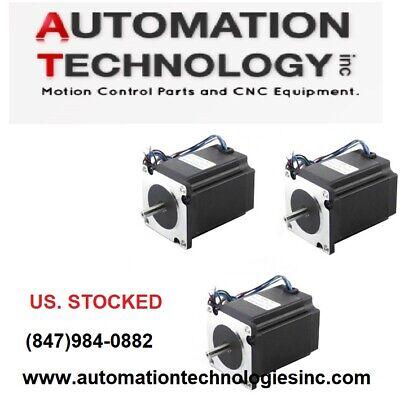 3 Pcs Nema23 270ozin 2.8a 14 Dual Shaft Stepper Motor Kl23h276-28-4b