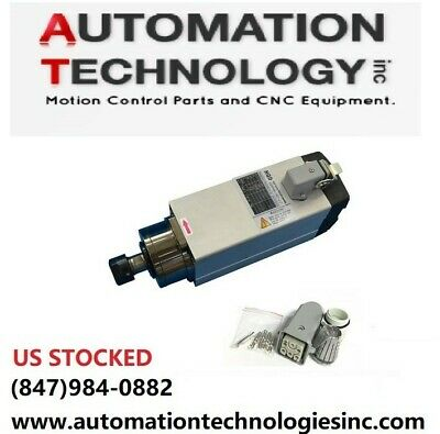 Us Ship 2.2 Kw Air-cooled Spindle Motor 18000rpm Er20 For Cnc Machine Square