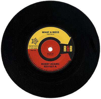 "BOBBY ADAMS  ""WHAT A MESS""    KILLER 60's R&B CLASSIC  LISTEN!"