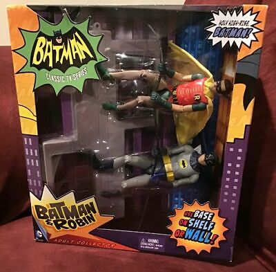 2013 New MIB Mattel Batman & Robin Holy High Rise