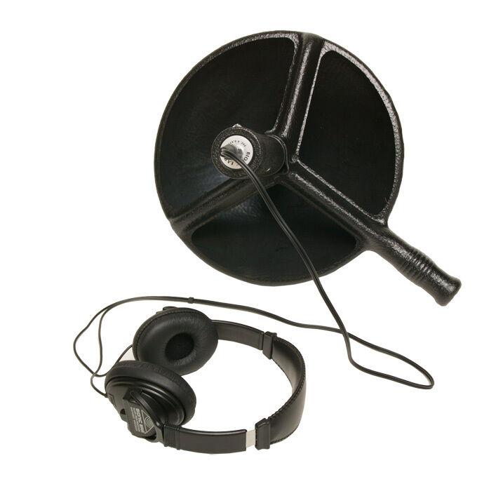 Bionic Ear Booster Amplified Parabolic Dish Microphone Hearing Listening Kit Set
