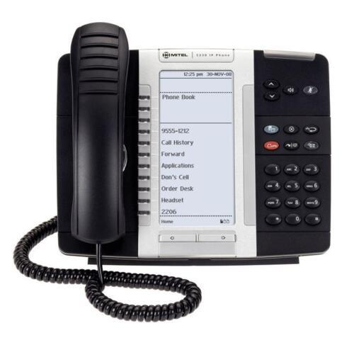 New Mitel 50006476 5330e Ip Phone (black)