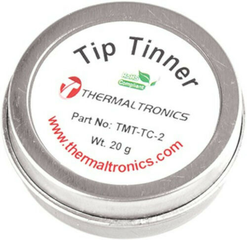 Thermaltronics Tip Tinner Lead Free Soldering Iron Tinnering Electronic Fix Home