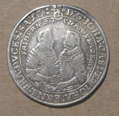 Saxe-Old-Gotha (Germany) - 1610 Large Silver Thaler