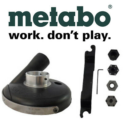7 Metabo Deluxe Grinder-vac Kit With Convertible Shroud W24-230 W24-180