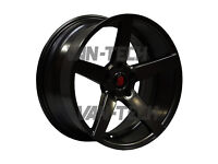 Axe EX-18 Alloy Wheels 18″ Gloss Black fit VW Transporter T5 T5.1 and T6 Vans